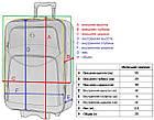 Чемодан дорожній на колесах Bonro Style невеликий валіза, фото 10