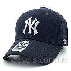 Кепка 47 Brand New York Yankees M252 Бейсболка Темно-Синяя (реплика)