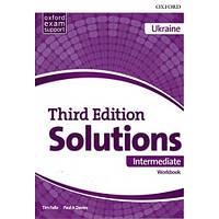 Рабочая тетрадь Solutions Third Edition Intermediate Workbook with Audio