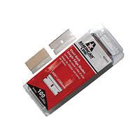 Лезвия American Line CS карбон (упаковка 100шт) к авто скребку (размер 2,54см) подходит ко всем скребкам