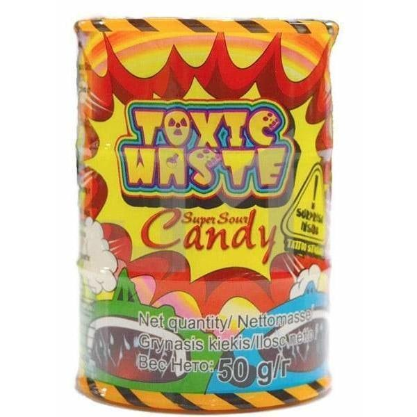 Конфеты Toxic Waste Super Sour Candy