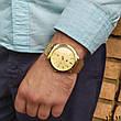 Мужские наручные часы золотые в стиле Tommy Hilfiger. Годинник чоловічий, фото 2