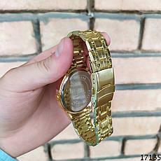 Мужские наручные часы золотые в стиле Tommy Hilfiger. Годинник чоловічий, фото 3