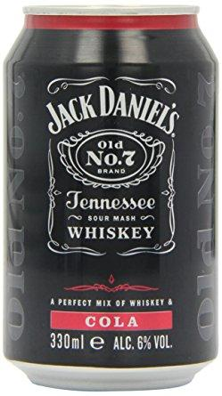 Jack Daniel's & Cola 330 ml 6% Alk