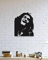 "Декор для стен. Панно из металла ""Боб Марли"""