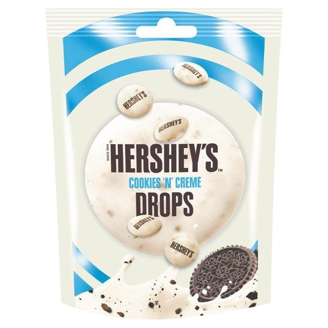 Hershey's Cookies Creme Drops 80 g