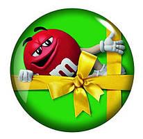 Подарочная коробка M&M´s Peanut Anhänger (зеленый)