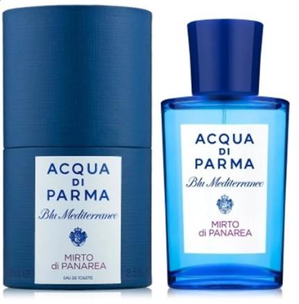 Унисекс парфюмированная вода Acqua di Parma Blu Mediterraneo Mirto di Panarea, 75 мл