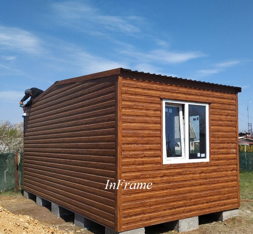 Дачный домик 3х6 // Модульный дом