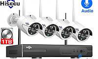 Система наблюдения Hiseeu 4 Wi-Fi камеры 1080P 8WNKIT 4HB612, фото 6
