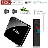Smart TV Box Mecool KM3 Voice 4GB/128GB голосовое управление DDR4 Amlogic S905X2 ANDROID TV 9.0, фото 7