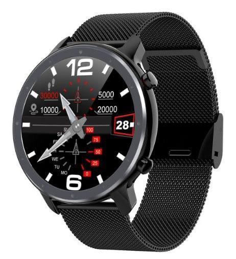 Умные часы Smart Watch Lemfo L11 Black водонепроницаемые