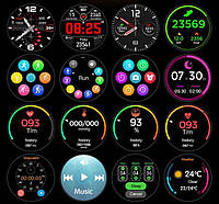Умные часы Smart Watch Lemfo L11 Black водонепроницаемые, фото 3