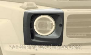 MANSORY headlight covers with air intake for Mercedes G-class
