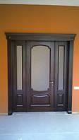 Двері соснові і дубові виготовлення