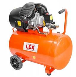 Компрессор LEX LXC 100 L (два цилиндра) 430л/мин.