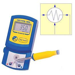 Термометр Hakko FG-100 для поверки паяльных станций