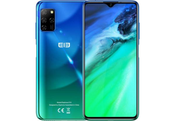 Смартфон Elephone E10 4/64Gb Aurora Blue MediaTek Helio P22 4000 мАч