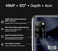 Смартфон Elephone E10 4/64Gb Aurora Blue MediaTek Helio P22 4000 мАч, фото 5