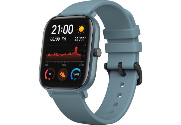 Умные часы Smart Watch Xiaomi Amazfit GTS Blue Global Version