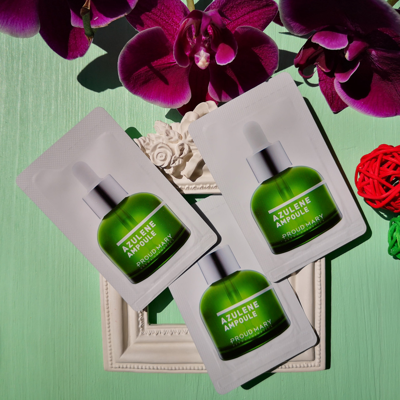 Proud Mary сыворотка с азуленом для чувствительной кожи пробник  Azulene Ampoule