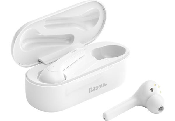 Bluetooth наушники Baseus W07 White