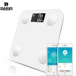 Весы умные напольные электронные DARIS DR-BA-001 Bluetooth