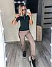 Спортивный костюм с лампасами женский (ПОШТУЧНО)