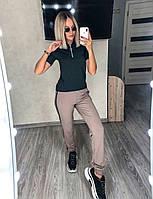 Спортивный костюм с лампасами женский (ПОШТУЧНО), фото 1