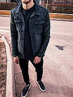 Джинсовая куртка мужская, фото 1