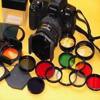 Светофильтры UV, CPL, ND, цветные, звездочные