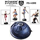Балансировочная платформа Power System Balance Trainer Zone PS-4200 Black Черный, фото 2