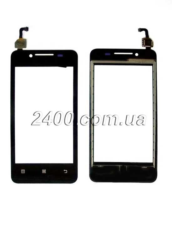Touchscreen (cенсор) Lenovo A319 черный - тачскрин для Lenovo A319 (Леново A 319) Black