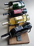 Подставка  для вина настенная, фото 8