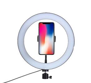 Светодиодная LED лампа Ring Fill Light 30 см + Студийный штатив Stend 200 см, фото 2