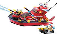 """Детский конструктор Brick 906 """"Пожарная тревога - катер"""", Конструктор Брик"""