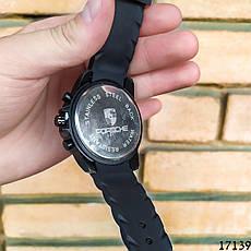 Мужские наручные часы черные в стиле Porsche. Годинник чоловічий, фото 2
