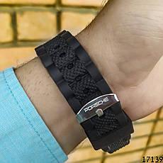 Мужские наручные часы черные в стиле Porsche. Годинник чоловічий, фото 3