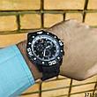 Мужские наручные часы черные в стиле Porsche. Годинник чоловічий, фото 4