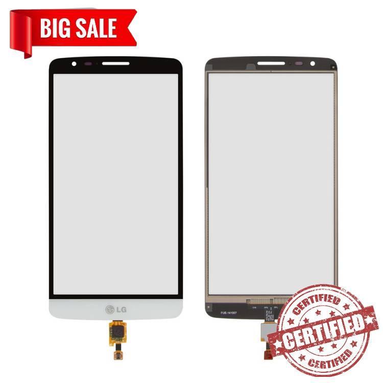 Сенсор (тачскрін) для LG D690 G3 Stylus, D693 G3 Stylus білий