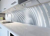 Виниловая наклейка кухонный фартук-скинали, самоклейка для кухни ReD Дуги 60х250 см