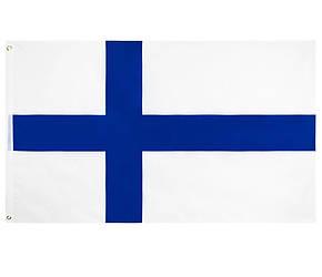 Флаг Финляндии 90х150см
