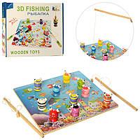 Рыбалка деревянная игрушка