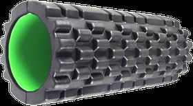 Роллер масажный Power System Fitness Foam Roller PS-4050 Black/Green Черно-зеленый