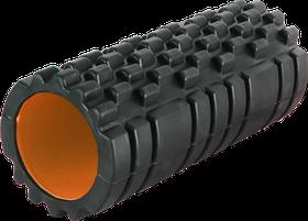 Роллер масажный Power System Fitness Foam Roller PS-4050 Black/Orange Черно-оранжевый