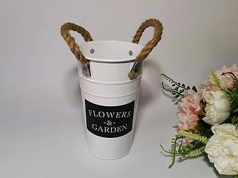 """Декоративне Кашпо для квітів """"Flowers"""""""