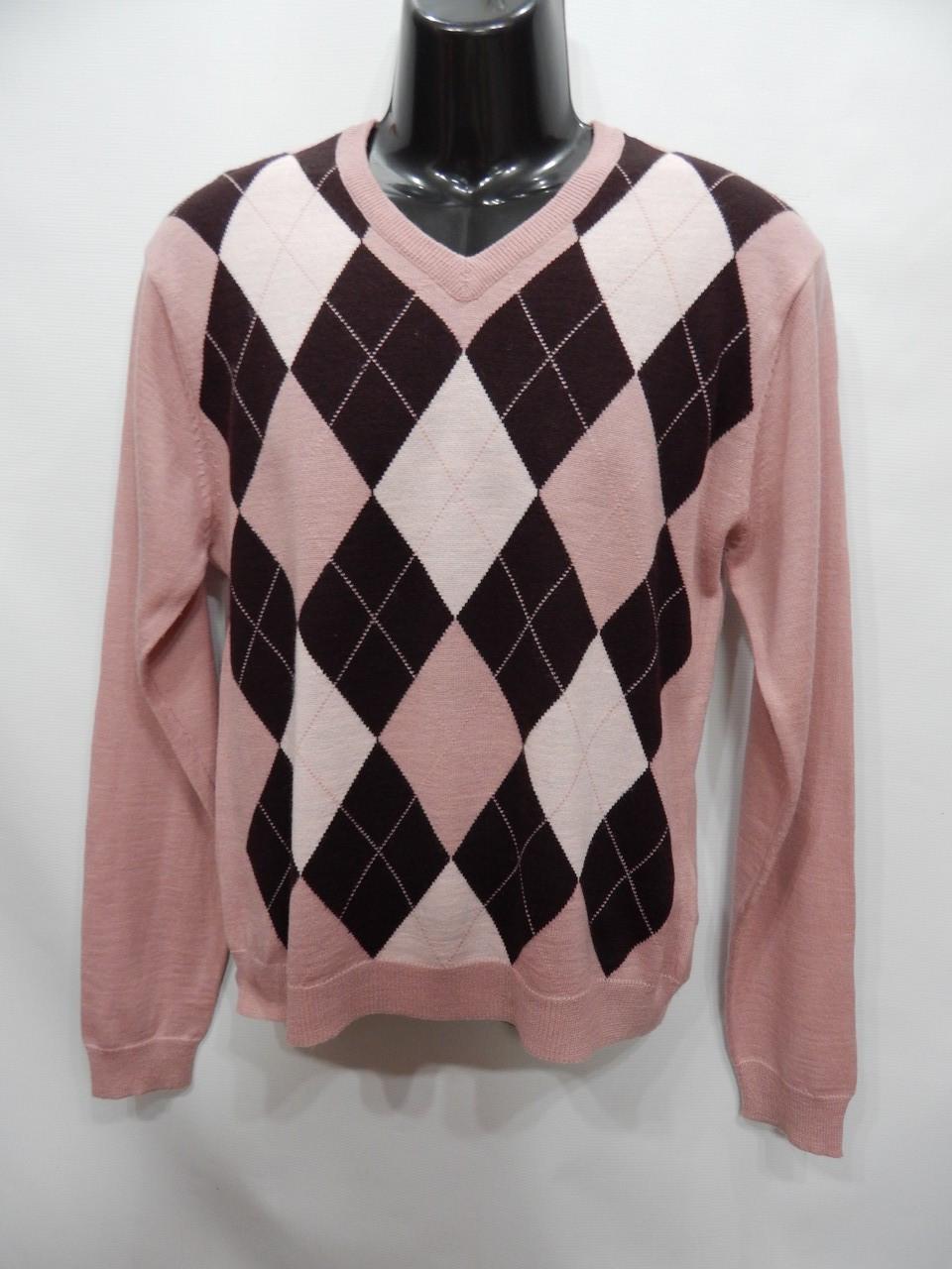 Свитер мужской шерстяной Terranova fashion р.50 024шмс