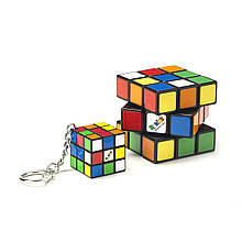 Набір rubik's Кубики 3х3 класика і брелок
