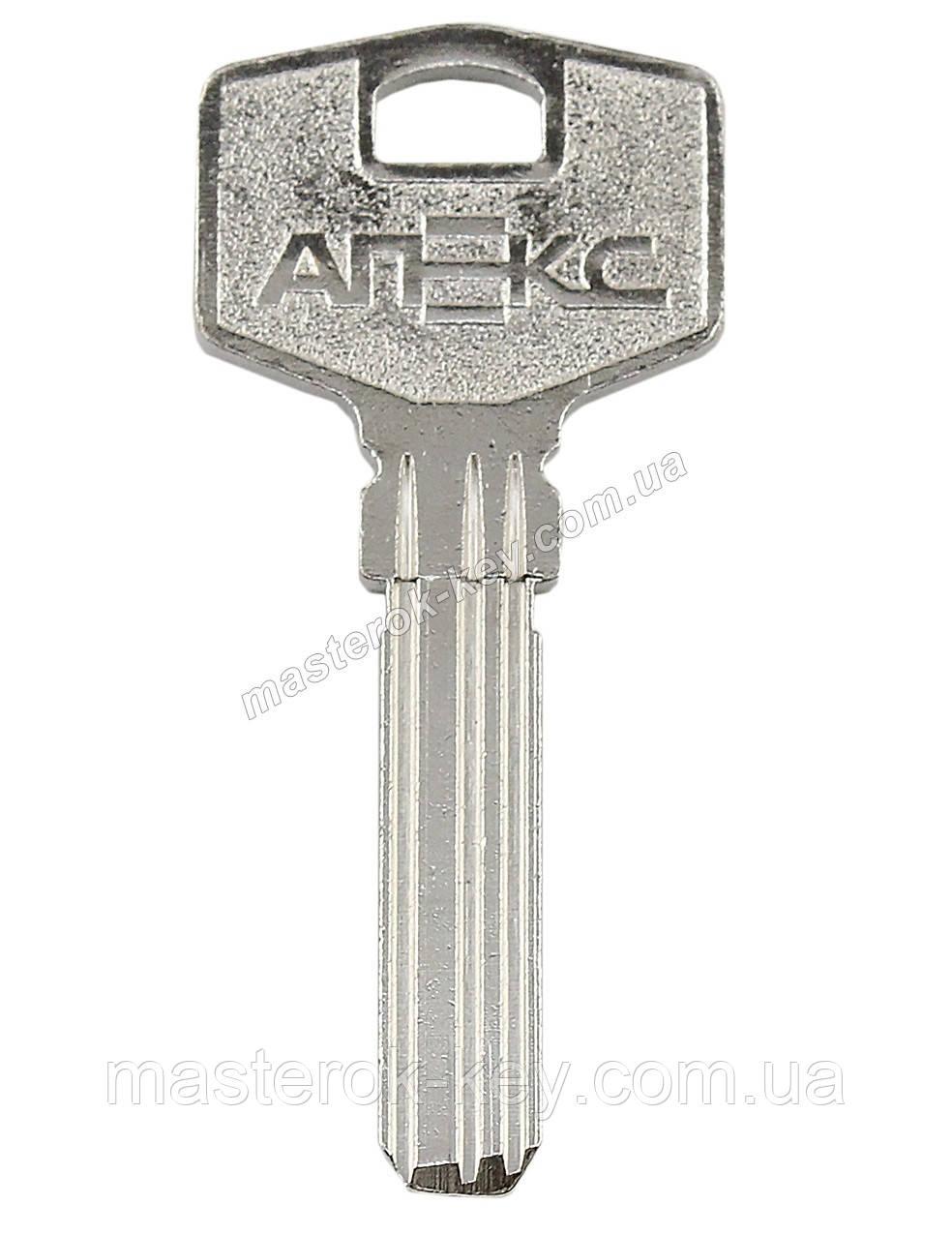 Заготовка ключа APECS 5 три паза металл