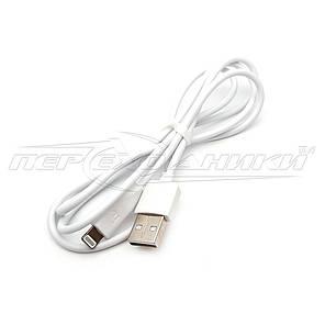 Кабель USB to Lightning(высокое качество), 1 м, белый, фото 2